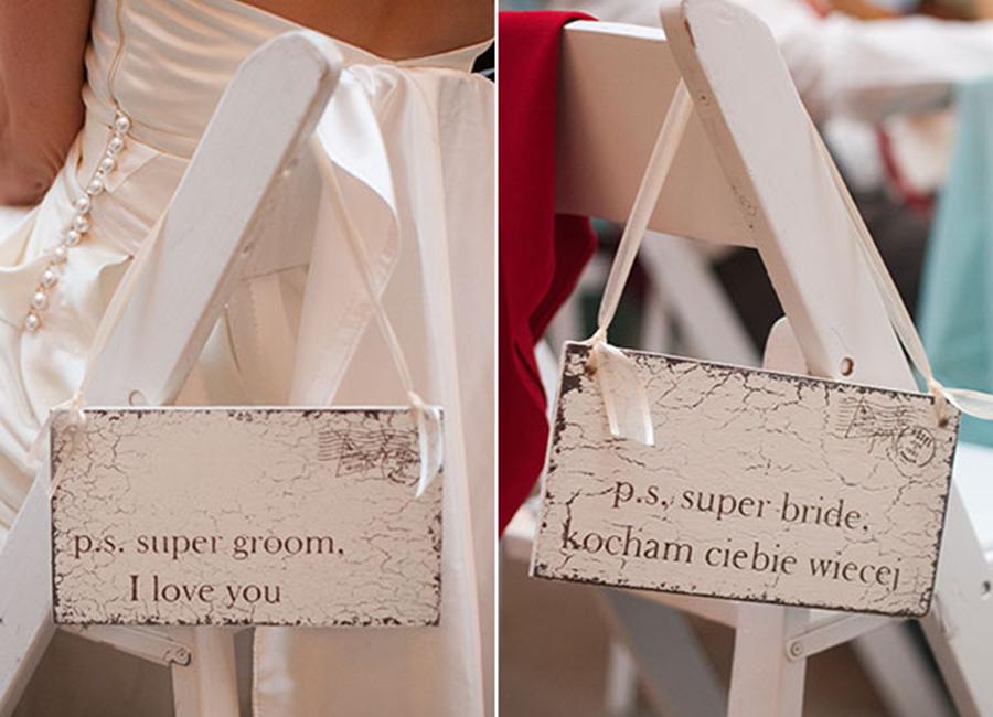 marcador de cadeira para noivos